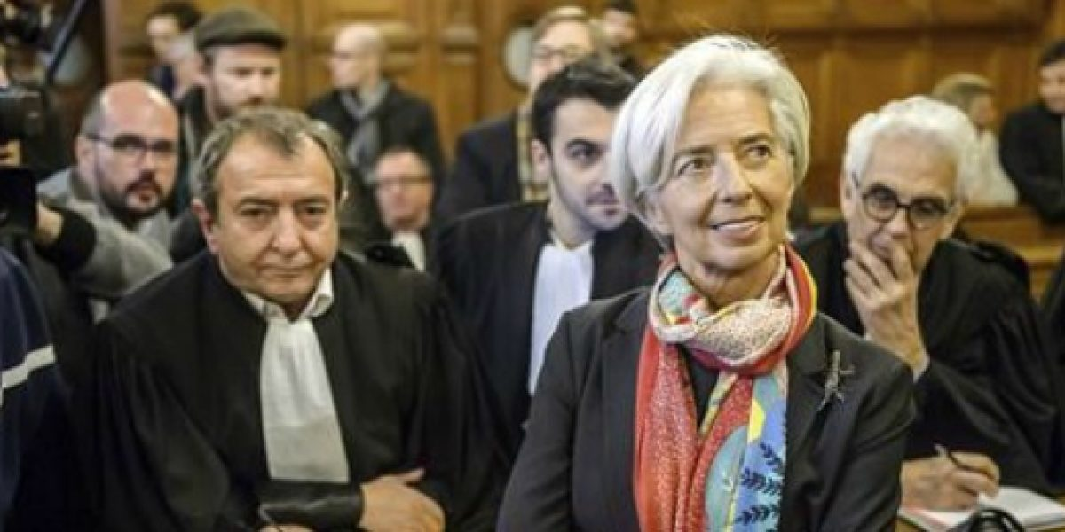 Lagarde niega ante los jueces haber sido negligente en el caso de Tapie