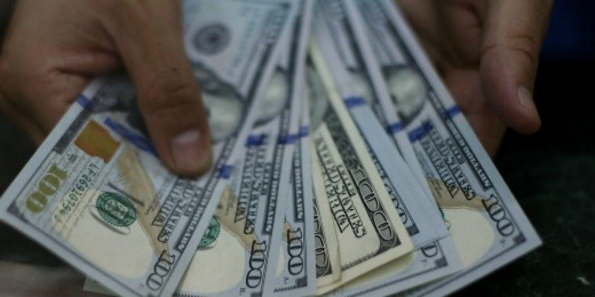 Dólar cae de los $650 y registra sexta baja consecutiva
