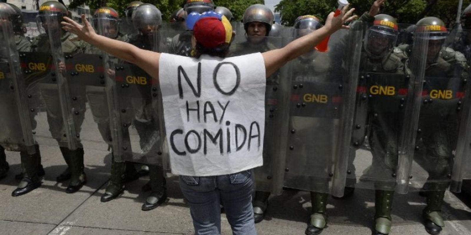 Crisis política en Venezuela Foto:AFP. Imagen Por: