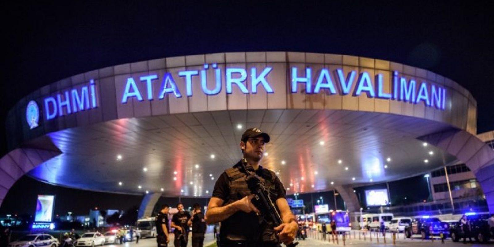 Ataque suicida en Estambul. Foto:AFP. Imagen Por: