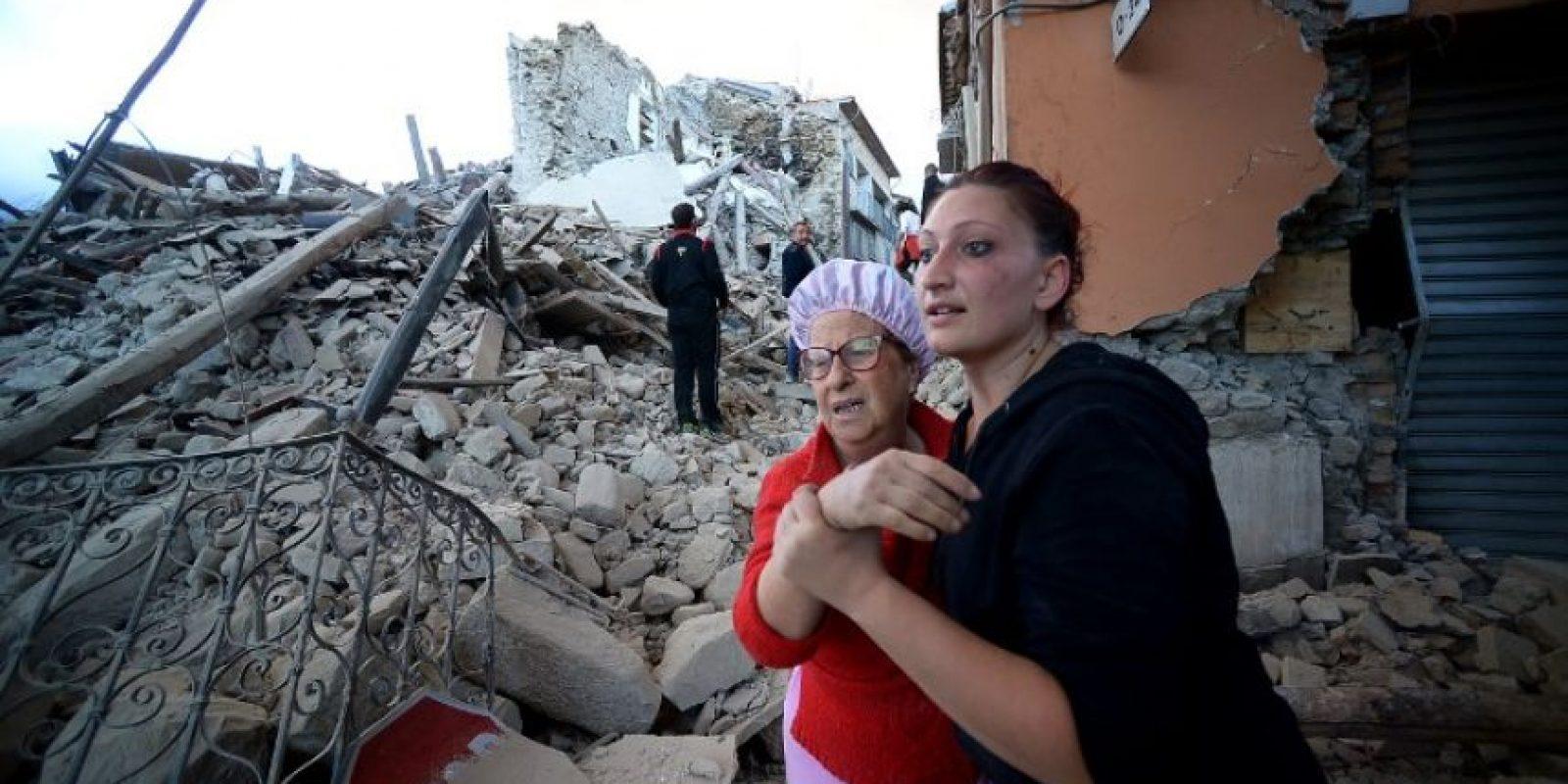 Terremoto en Italia. Foto:AFP. Imagen Por: