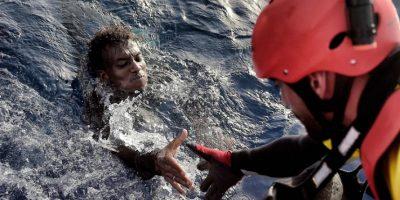 Crisis de inmigrantes en Europa. Foto:AFP. Imagen Por: