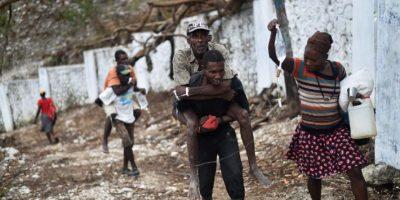 Paso el huracán Matthew. Foto:AFP. Imagen Por: