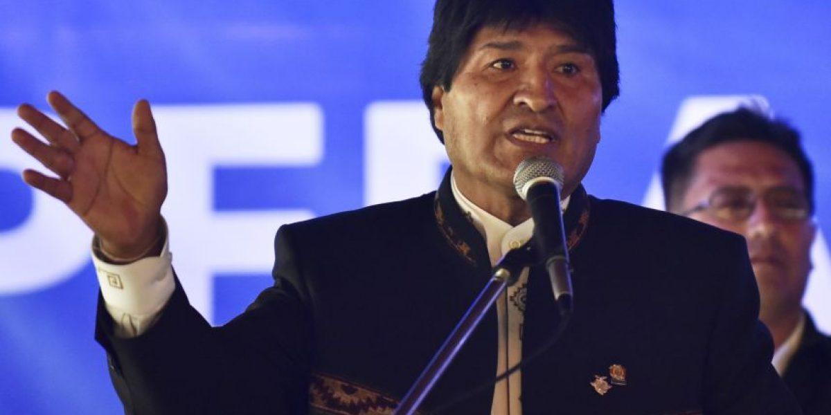 Evo Morales acusa a Chile de cometer