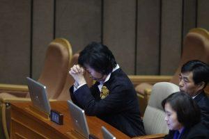 Escándalo de corrupción en Corea del Sur. Foto:AFP. Imagen Por: