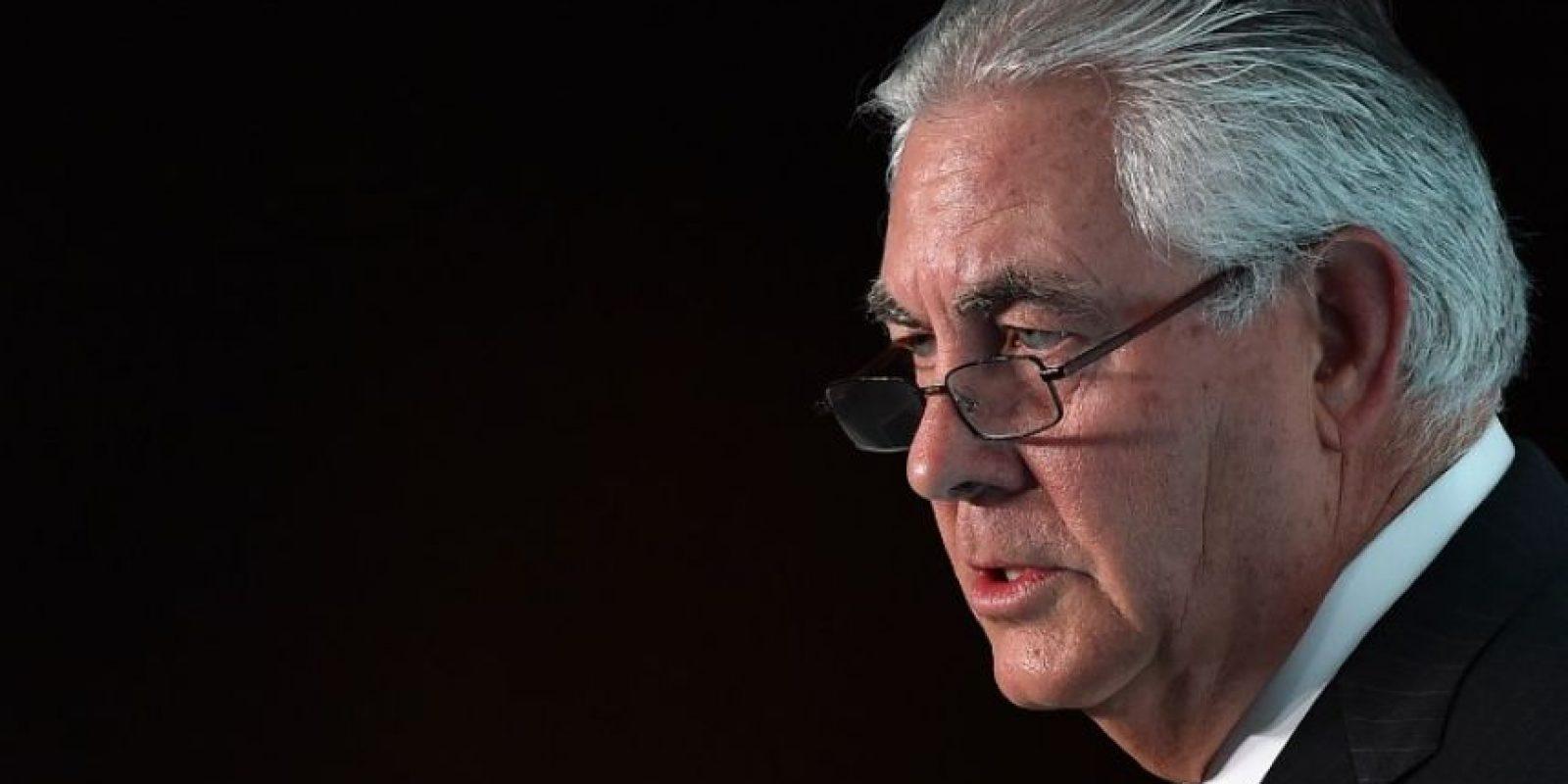Rex Tillerson Foto:AFP. Imagen Por: