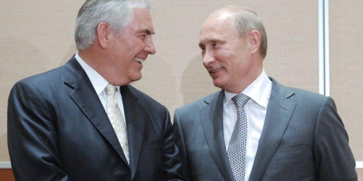 Los vínculos que únen al nuevo secretario de Estado de Trump con Putin