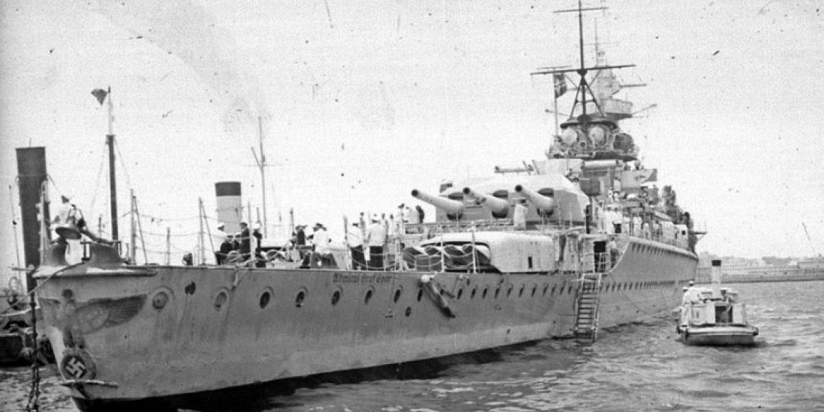 El día en que nazis e ingleses se enfrentaron por primera vez en el mar… Y fue en Sudamérica