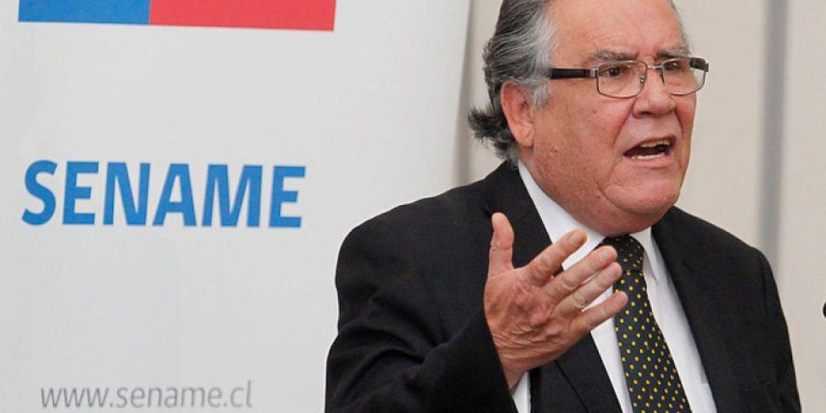 Ministro Campos por red de explotación sexual en el Sename: