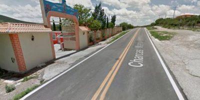 Así es la calle principal que da ingreso a La Joya Foto:Reproducción. Imagen Por: