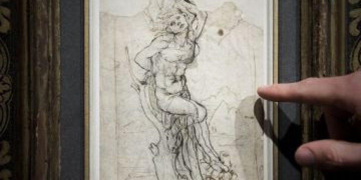 """La última """"gracia"""" de Da Vinci: familia francesa encontró entre papeles un dibujo perdido del artista"""