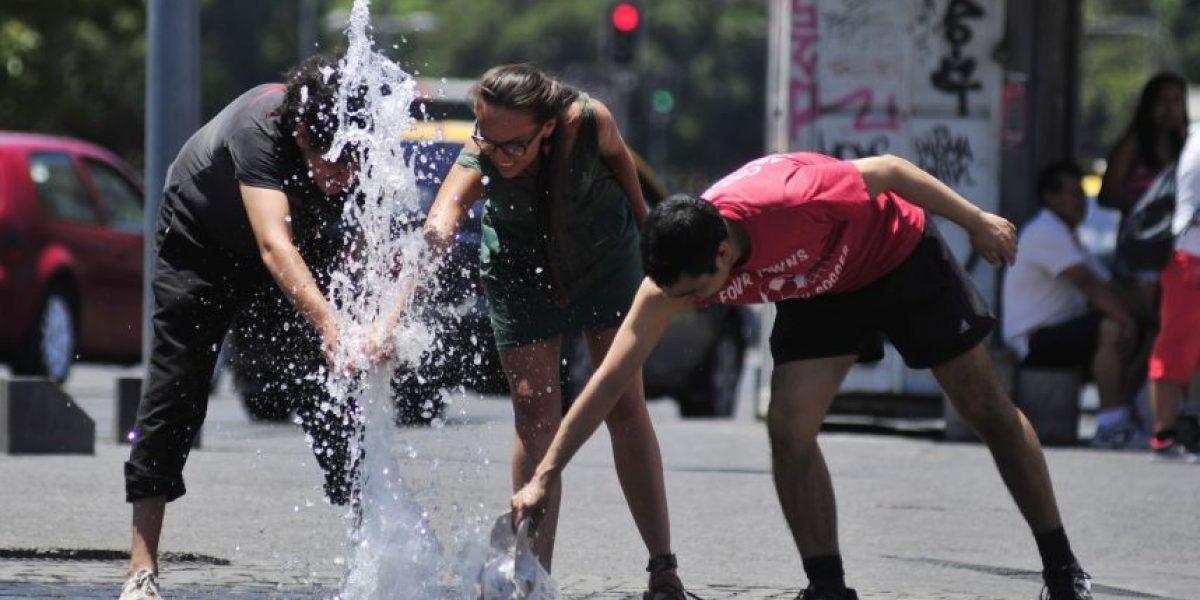 Calor extremo: las temperaturas históricas más altas registradas en Santiago