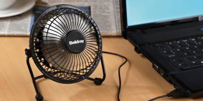 Los ventiladores USB son buenos compañeros en la oficina. Foto:Aliexpress. Imagen Por: