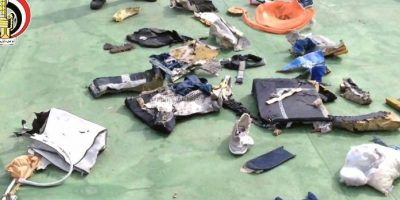 Los restos hallados de la nave. Foto:AFP. Imagen Por: