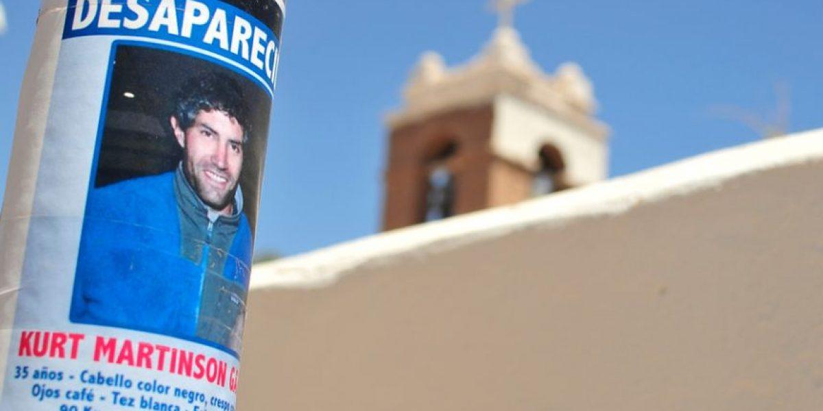 Fiscalía decreta el cierre de la investigación por desaparición de Kurt Martinson