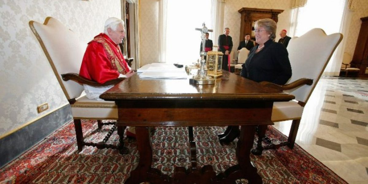 Benedicto XVI recuerda a Bachelet como atea y marxista pero con