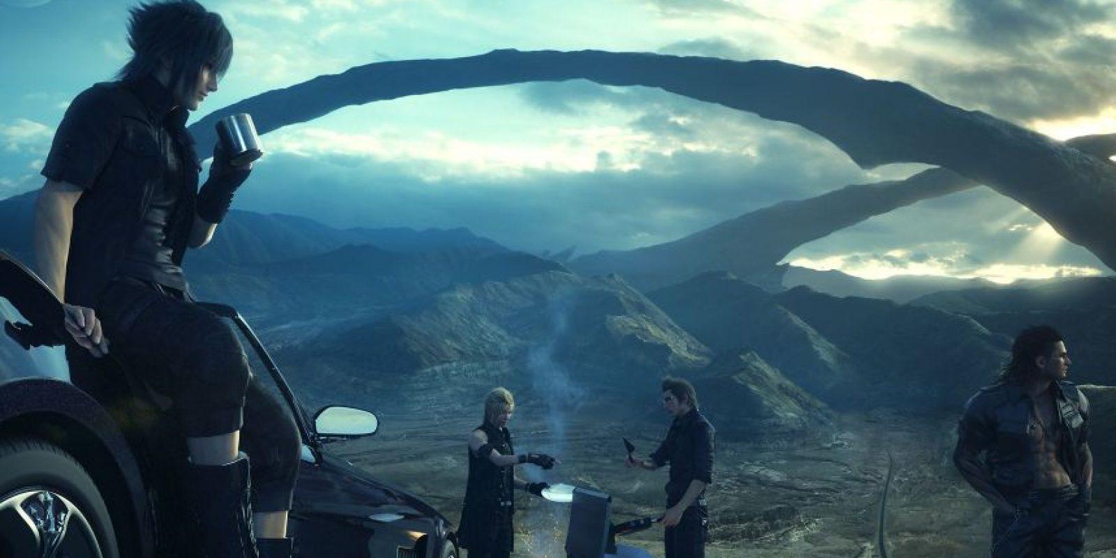 Final Fantasy XV fue considerado en la lista de los mejores juegos del año por dos de nuestros tres expertos consultados. Foto:Captura. Imagen Por: