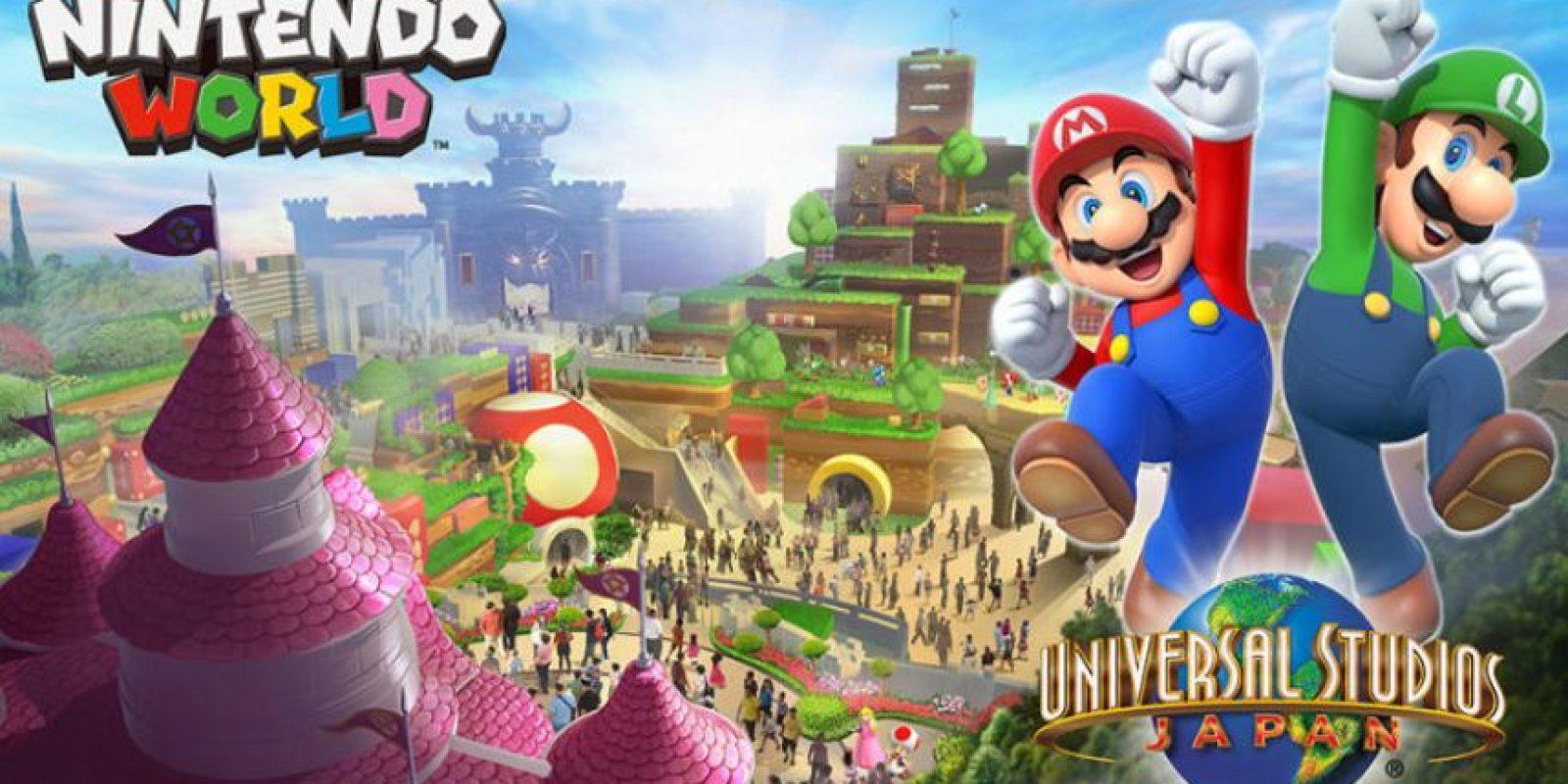 """Así se verá el próximo parque temático de Universal, """"Nintendo World"""" Foto:Nintendo / Universal. Imagen Por:"""