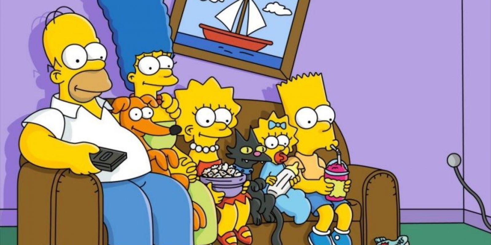 Los Simpsons Foto:Reproducción. Imagen Por: