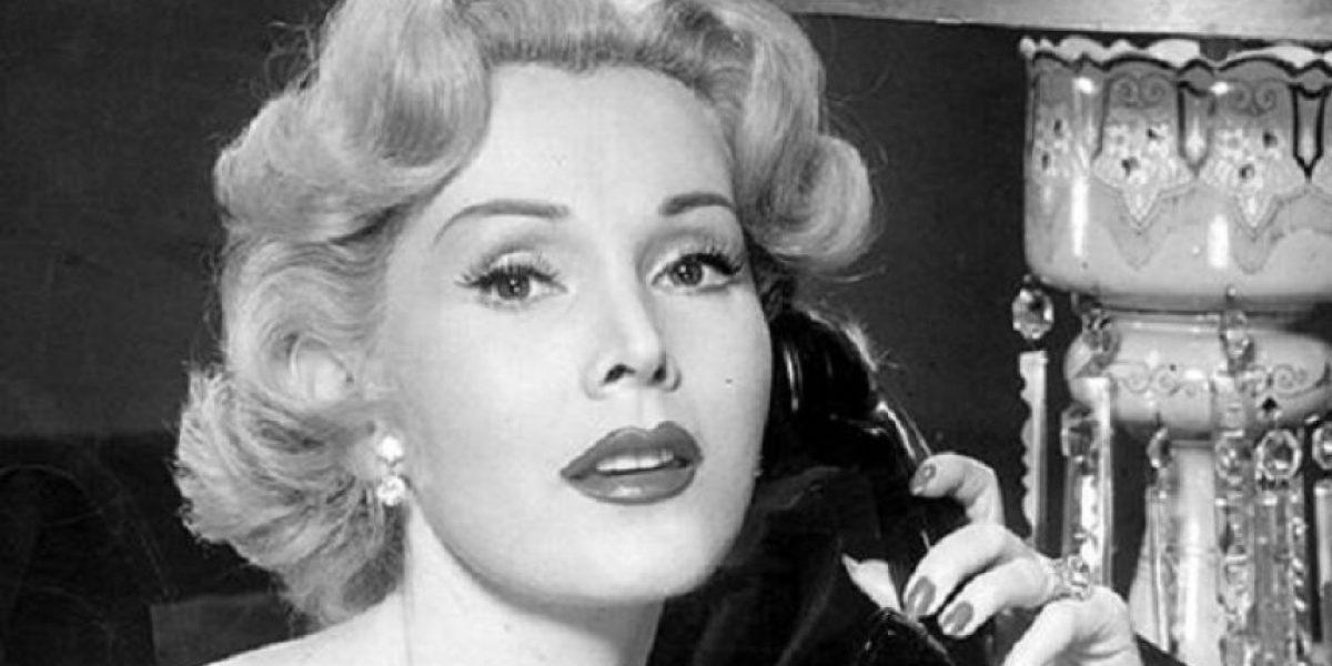 A los 99 años fallece la actriz Zsa Zsa Gabor