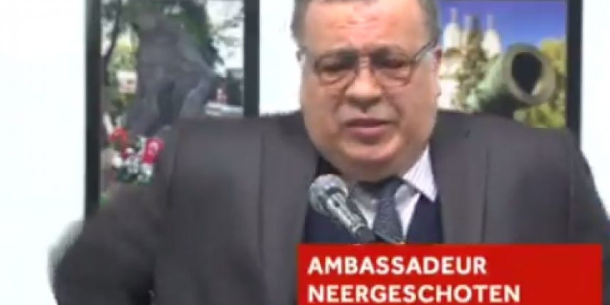 Fallece embajador ruso en Ankara tras ser tiroteado