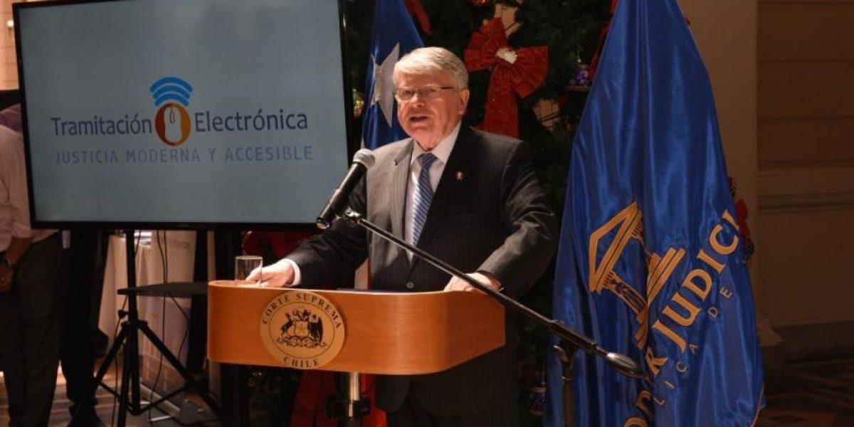 Tramitación electrónica del Poder Judicial llega a Santiago, Concepción y Valparaíso