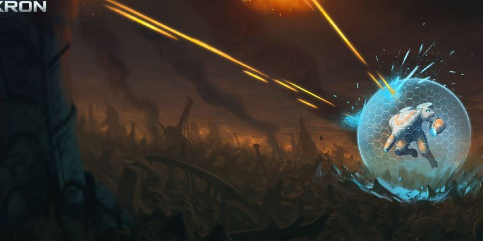 """""""Defenders of Ekron"""" será lanzado en 2017. Foto:InVitro Games. Imagen Por:"""