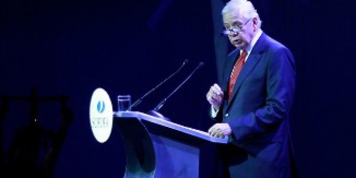Líder de la Sofofa depone su carrera por la presidencia de la CPC
