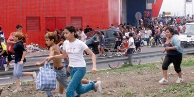 Imagen de los saqueos ya generalizados, en diciembre de 2001. Foto:AFP. Imagen Por: