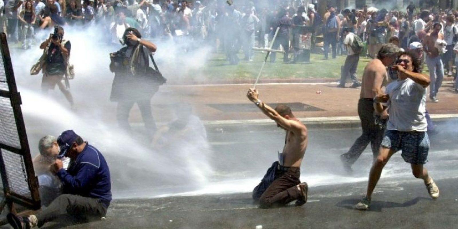 La represión de diciembre de 2001 dejó 36 muertos. Foto:AFP. Imagen Por:
