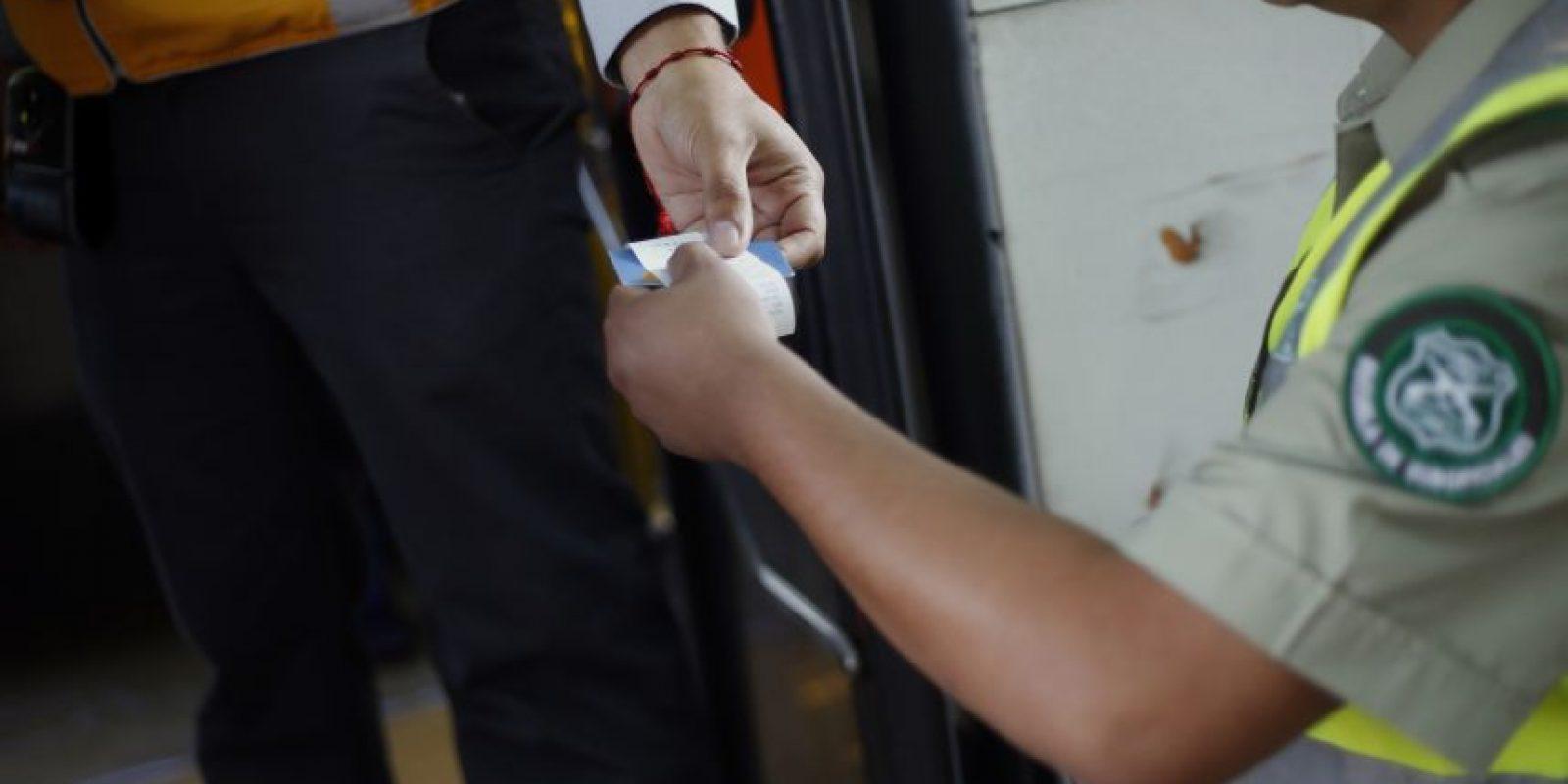 En cuanto a las fiscalizaciones, durante lo que va del presente año, se han fiscalizado a 1.332.145 pasajeros, siendo de estos 65.161 infraccionados por no cancelar su pasaje. Foto:Agencia UNO. Imagen Por: