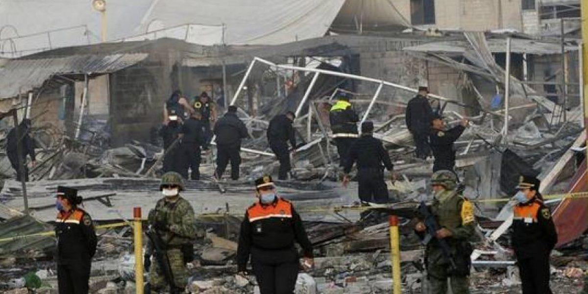 Explosión de pirotecnia deja al menos 31 muertos y 72 heridos en México