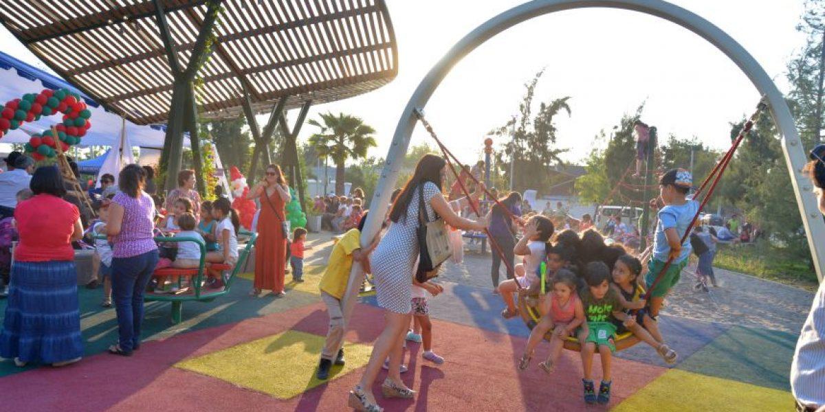 Convierten peligrosa plaza de San Joaquín en parque recreacional