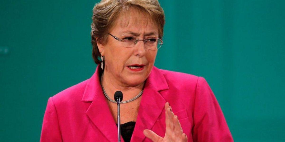 Bachelet y críticas a su gestión: