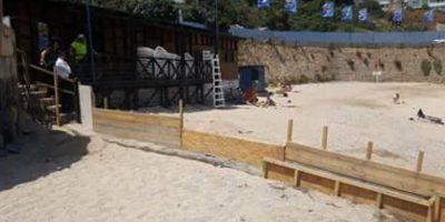 Los habitantes de Concón están molestos debido a que un particular está construyendo un muro en la playa Los Lilenes, situación supuestamente legal a pesar de que se trata de un bien de uso público. Foto:Reproducción. Imagen Por: