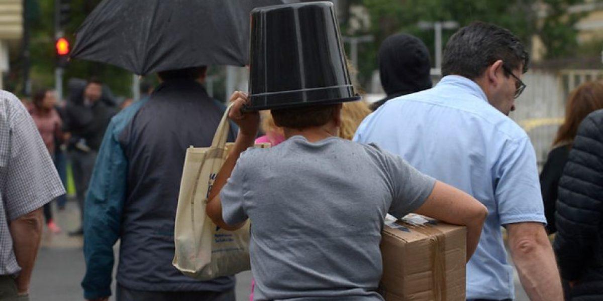 A sacar el paraguas: se anuncian lluvias en zona sur del país para esta Navidad