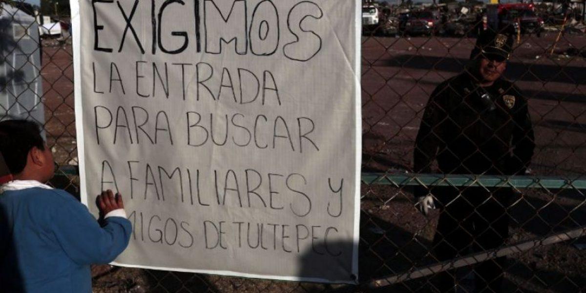 Continúan buscando víctimas tras tragedia en mercado de México