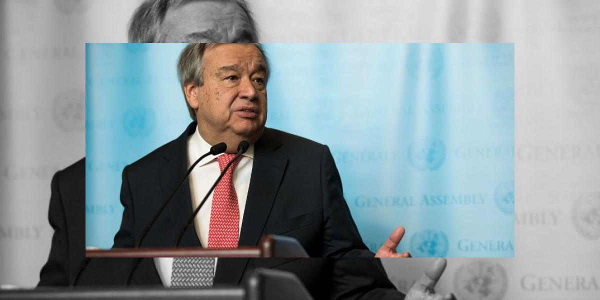 Guterres se estrena como secretario general con un llamamiento por la paz