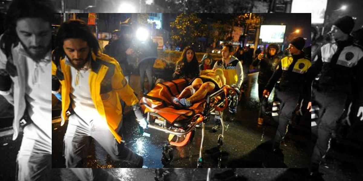 """Un testimonio del atentado en Estambul: """"La gente se pisoteaba para escapar"""""""