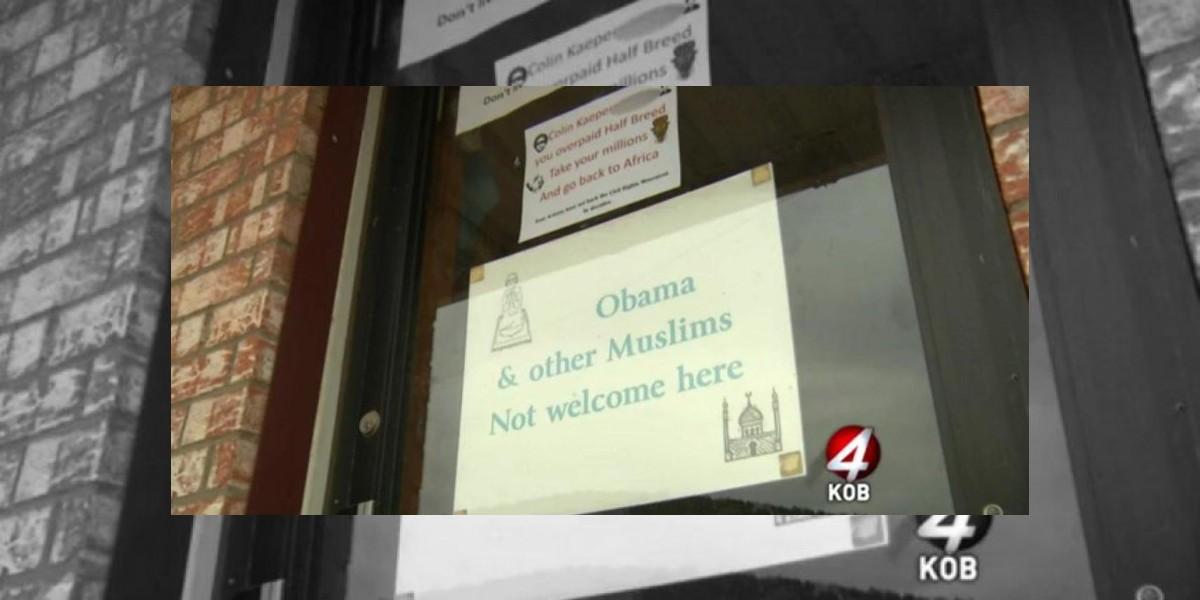 """La tienda que en pleno EEUU prohibe la entrada a """"Obama y otros musulmanes"""""""