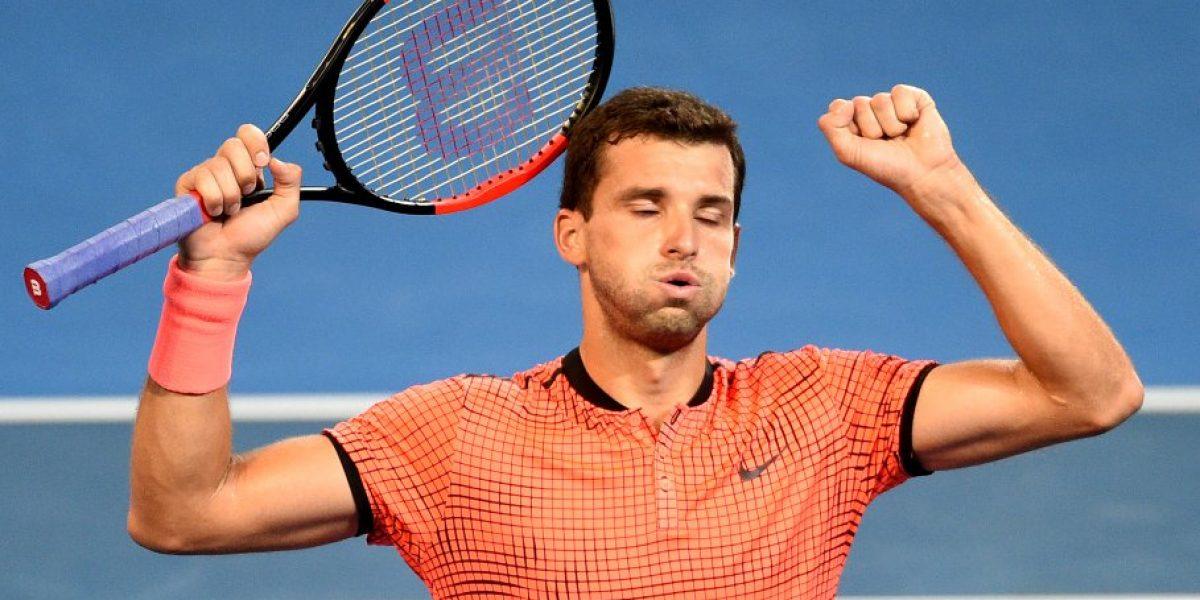 El búlgaro Dimitrov sorprendió a Nishikori y se quedó con el título de Brisbane