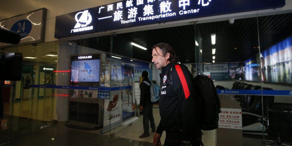 La Roja se completa con el arribo de Pizzi a Nanning y se alista para la China Cup