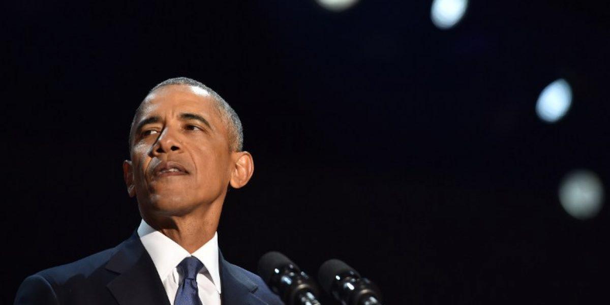 El último discurso de Obama: negar el cambio climático