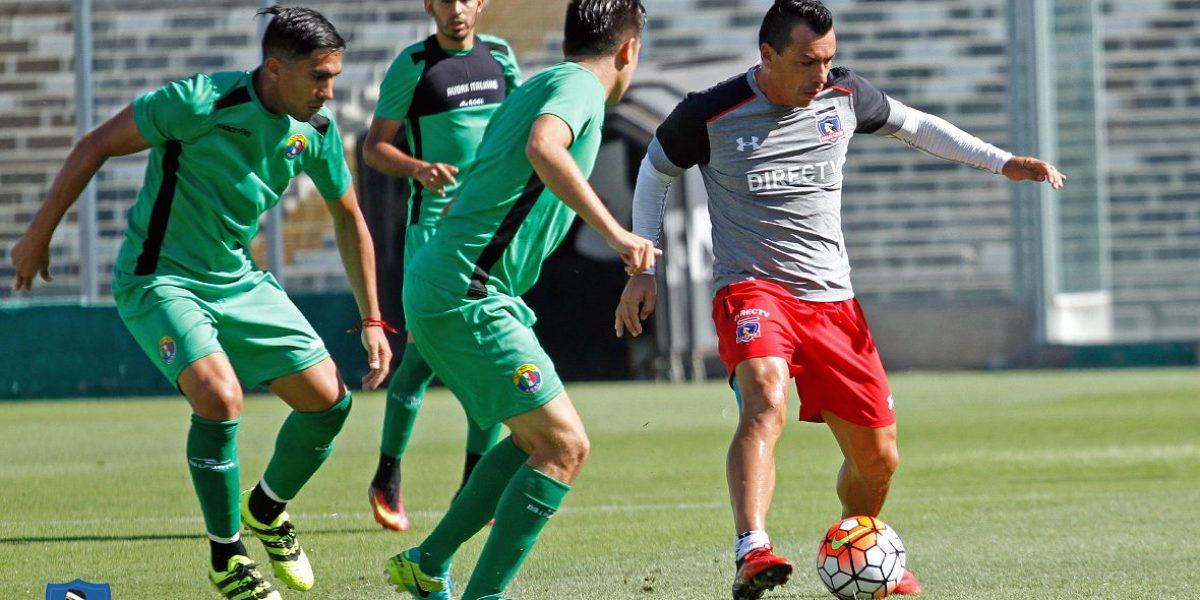 Colo Colo sigue en racha y venció a Audax Italiano con gol de Paredes