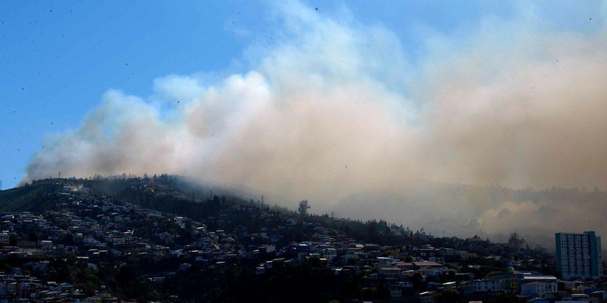 Gobierno decreta zona de catástrofe en Valparaíso ante nuevo incendio