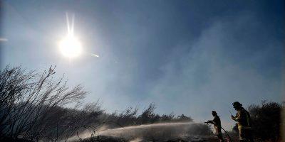 Sanitaria advierte cortes en servicio de agua potable por incendio en Valparaíso