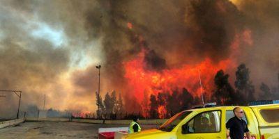 Nuevo incendio de gran magnitud afectó a Valparaíso