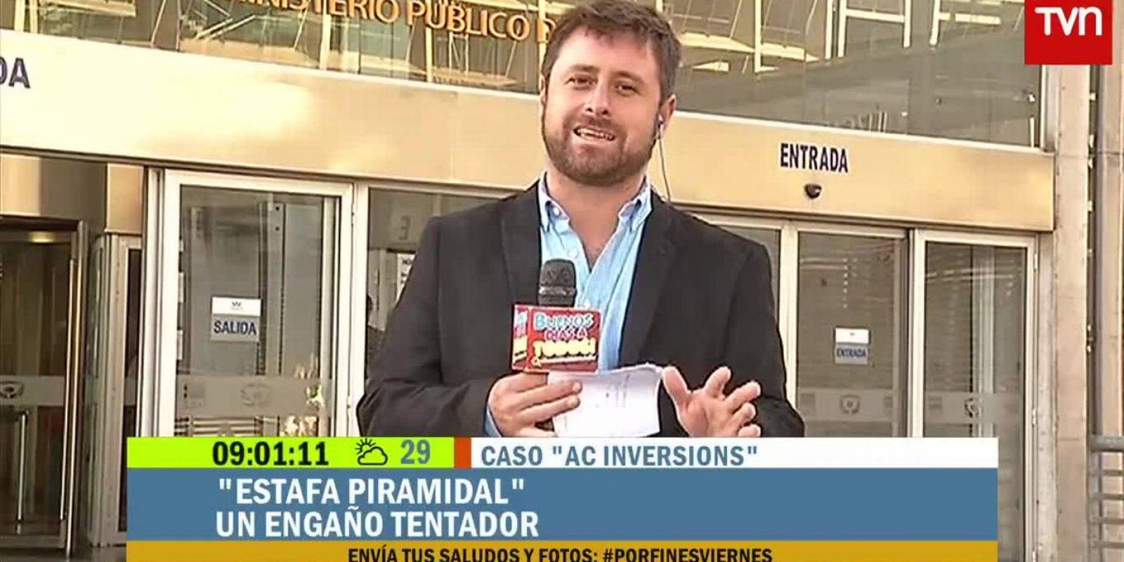 El periodista sale a mediados de año del matinal de TVN/Reproducción