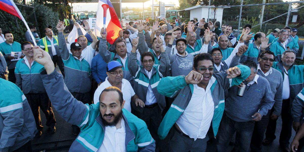 Resultado de imagen para huelga buses vule
