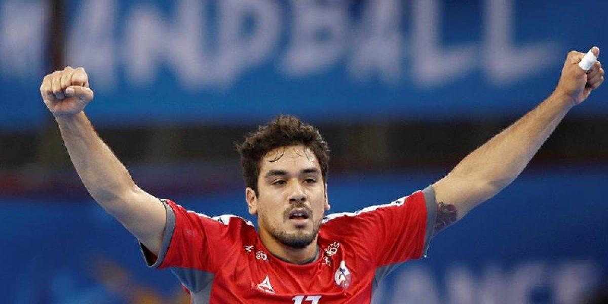 Chile debuta con un histórico triunfo en el Mundial de balonmano en Francia